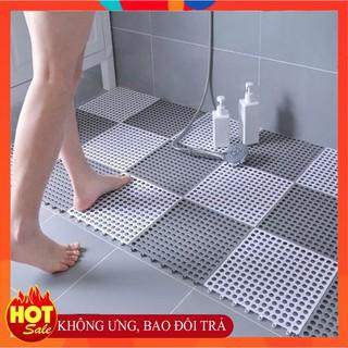 [Mã 1010LIFESALE10K giảm 10% đơn 50k] Thảm nhựa chống trơn trượt phòng tắm thoát nước nhanh không gây đau chân