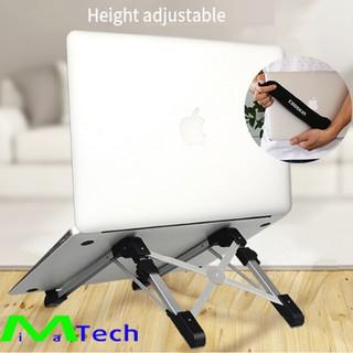 Giá đỡ kệ đỡ laptop macbook ipad Cooskin hợp kim nhôm bền nhẹ