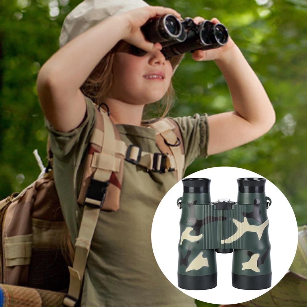 2PCS Toy Camping High Resolution Kids Fashion Gift Outdoor 6X36 Non Slip Binocular