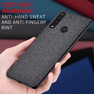 Ốp Lưng Vải Chống Sốc Cho Motorola Moto G8 Play Moto G8 Plus E6