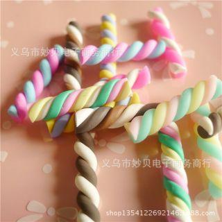 Charm kẹo xoắn dài
