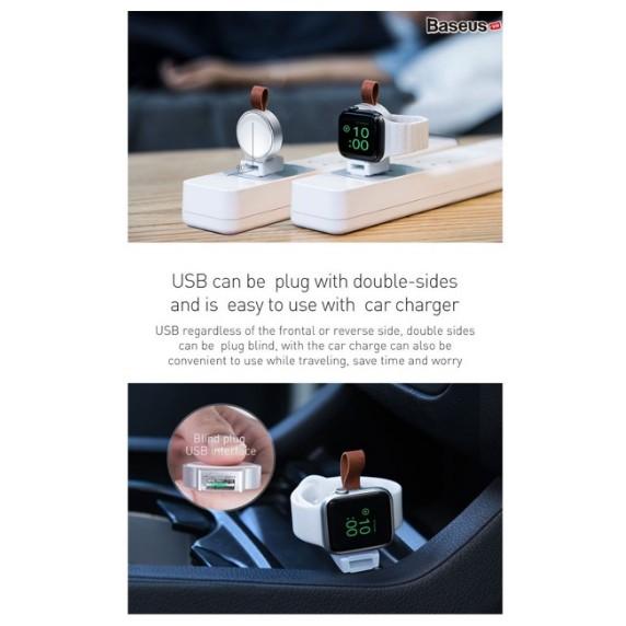Sạc USB sạc không dây cho Apple Watch hiệu Baseus chính hãng ( Tiện Dụng )