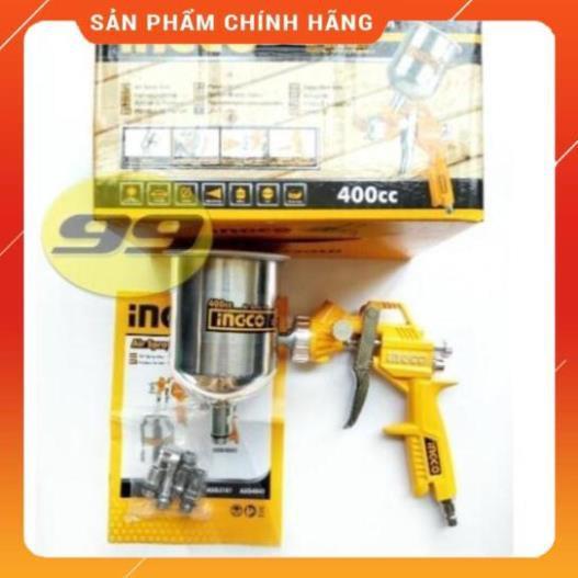[Chính Hãng] TP HCM - Súng phun sơn 400cc INGCO ASG4041 - Chất lượng