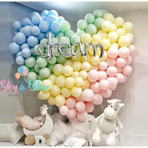 """Bong bóng pastel Macaron 9"""" trang trí sinh nhật siêu phẩm mới"""