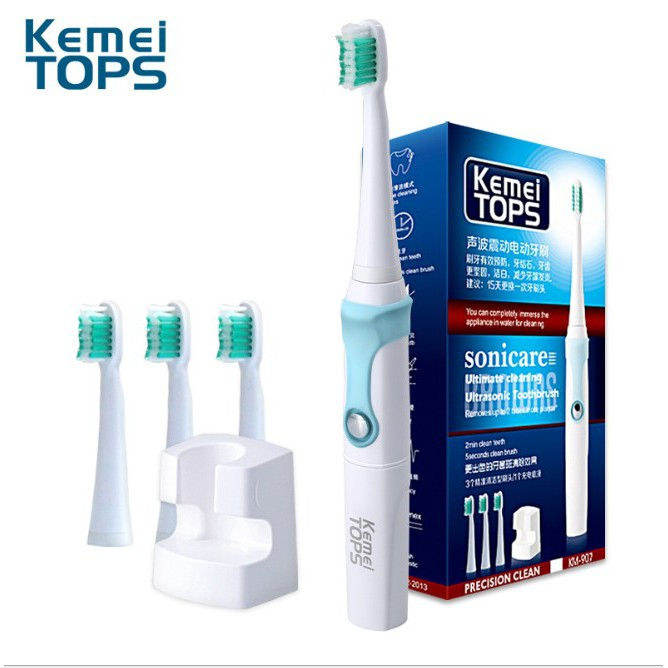 Bàn chải đánh răng điện cao cấp Kemei - 3152402 , 722586378 , 322_722586378 , 238000 , Ban-chai-danh-rang-dien-cao-cap-Kemei-322_722586378 , shopee.vn , Bàn chải đánh răng điện cao cấp Kemei