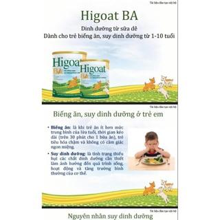 Sữa dê Higoat BA loại 400g 800g thumbnail