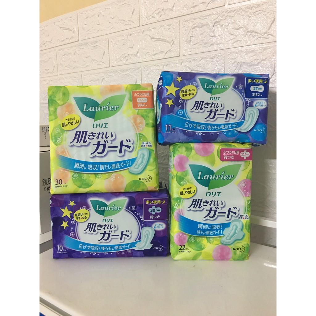 Băng vệ sinh Laurier nội địa Nhật Bản - Đủ Loại