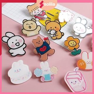 Pin mini, Stick trang trí áo , Phụ Kiện dễ thương, khuy cài balo , huy hiệu (giao ngẫu nhiên) thumbnail