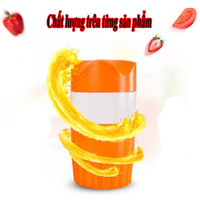 Máy ép nước cam , hoa quả nhỏ gọn siêu tiện ích.