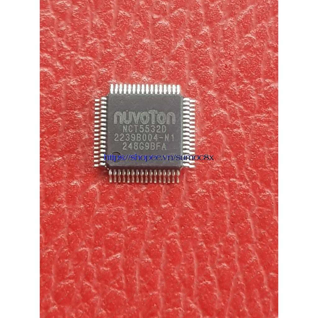 NCT5532D 5532 ic nguồn trên mainboard