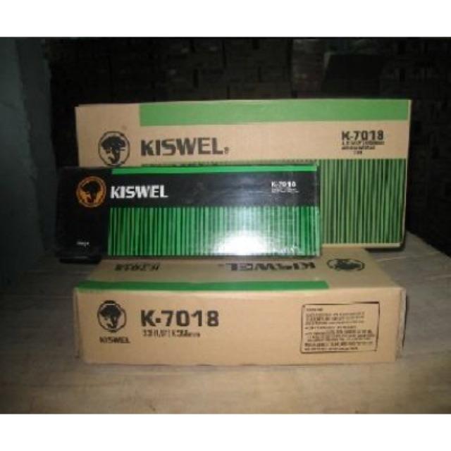 Que hàn chịu lực Kiswel K-7018 - 14175790 , 1825021284 , 322_1825021284 , 190000 , Que-han-chiu-luc-Kiswel-K-7018-322_1825021284 , shopee.vn , Que hàn chịu lực Kiswel K-7018