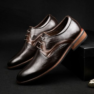 Giày da thật chính hãng Manzano phối màu độc đáo ấn tượng dành cho người sành giày M66600