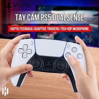 Tay cầm PS5 chơi game Dualsense Controller Playstation 5 chính hãng (Màu Trắng, Đen, Đỏ) thumbnail