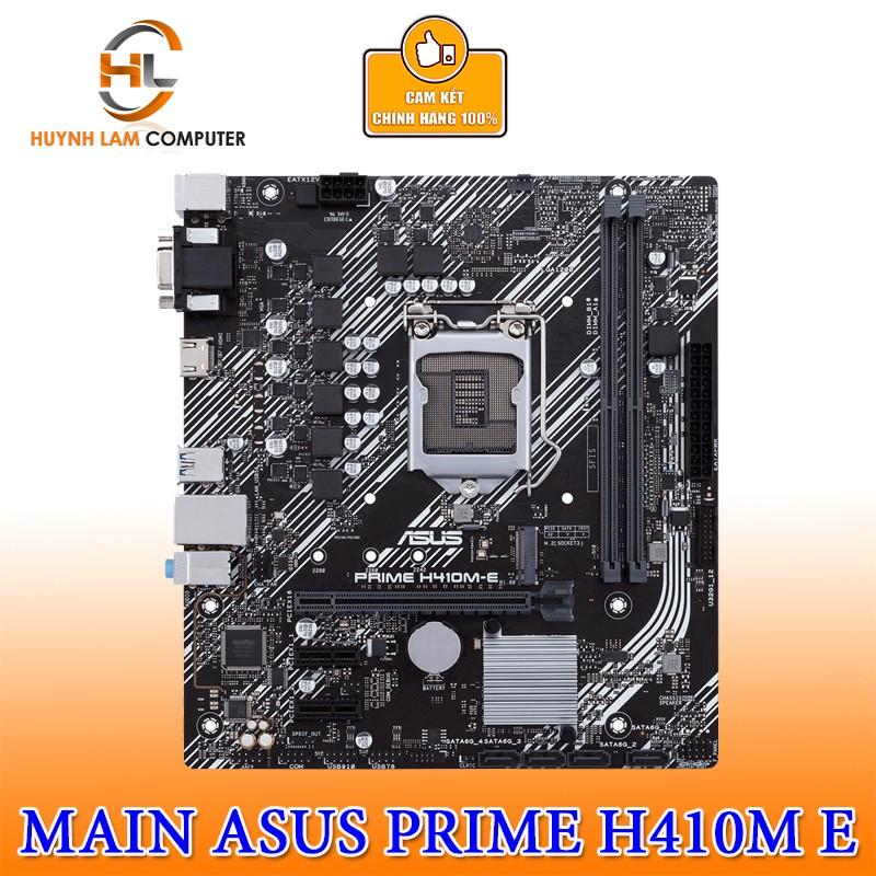 Main Asus PRIME H410M-E socket 1200 Chính Hãng Viết Sơn Phân Phối