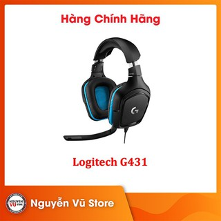 Tai nghe Gaming Logitech G431 7.1 – Hàng Chính Hãng
