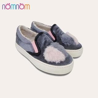 D&A giày slipon bé gái thời trang UG1604 nhung ghi thumbnail
