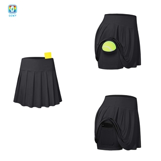 COD Tennis Skirts Pleated Athletic Golf Skorts with Bulit-in Shorts M O4VN