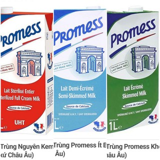 Sữa tiệt trùng Promess các loại 1L