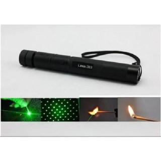 Đèn Pin Siêu Sáng laser303  Freeship Mẫu đèn pin mini cầm tay nhỏ gon, tiện dụng khi đi xa Mẫu 2017