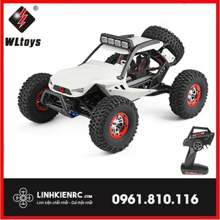 Siêu Xe Địa Hình Điều Khiển Từ Xa Tốc Độ Cao WLtoys 12429 40km/H 1/12 2.4G 4WD 40km/h