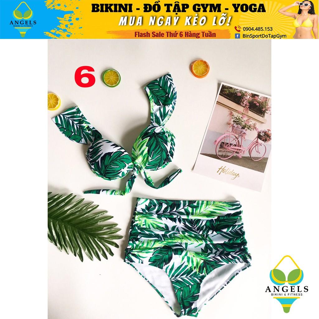 Bikini,Bộ Đồ Bơi Hai Mảnh Hoa Lá ,Nhiều Mẫu Siêu Đẹp  BHV021