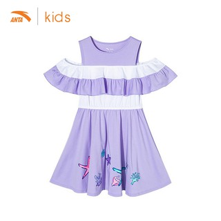 Váy liền bé gái Anta Kids 362027397-1