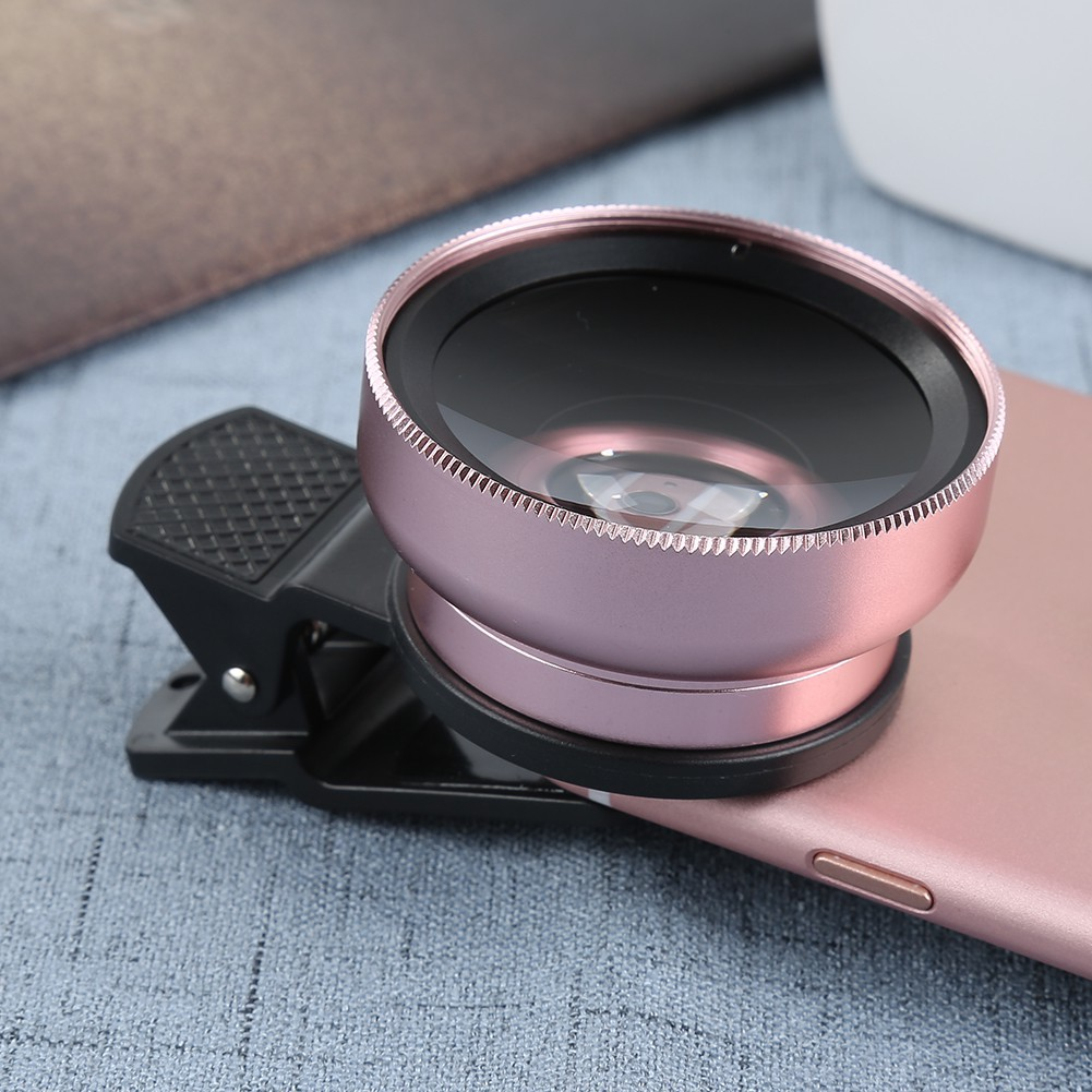 Ống kính góc rộng 37mm 0.45X cho điện thoại