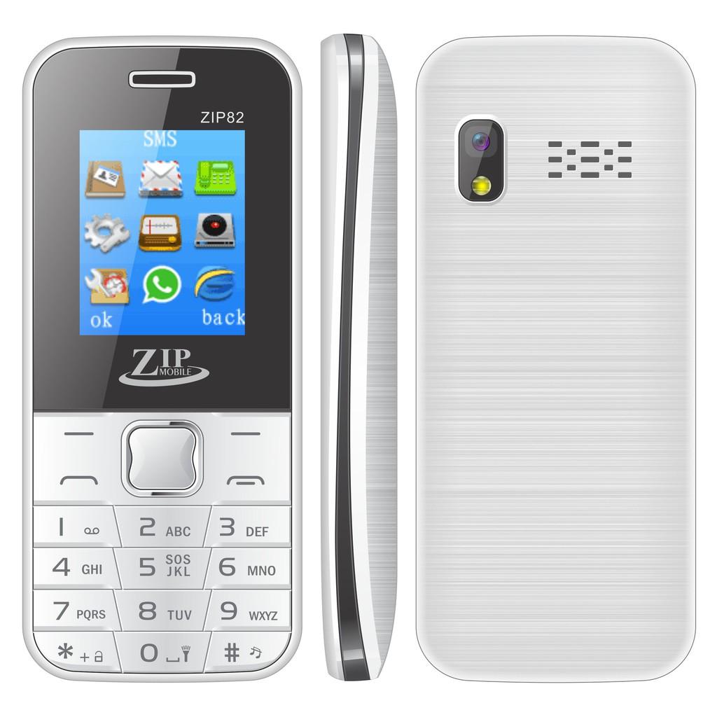 Điện thoại ZIP Mobile ZIP82 Pin Khủng - Hàng Chính Hãng - Bảo Hành 12 Tháng