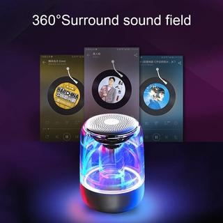 Loa Bluetooth 5.0 Không Dây Âm Thanh Hifi Có Đèn Led 6d C7 Tws