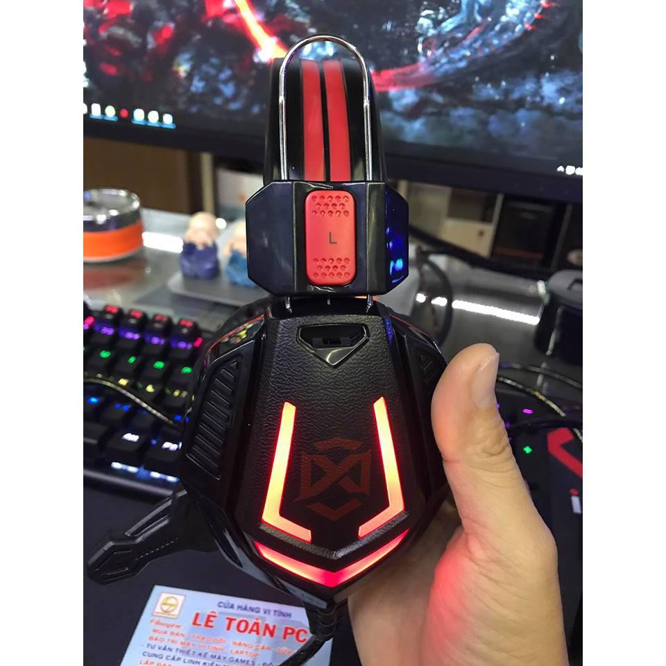 Tai nghe Xiberia V8 chuyên Game Led đỏ (Chính hãng Ninza, bảo hành 1 năm)