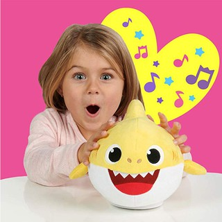 💞With Music Songs Baby Shark Plush Doll – Formal Dancing Toy