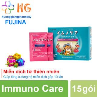 Immuno Care - Hỗ trợ tăng cường sức đề kháng. Hỗ trợ giảm nguy cơ viêm mũi, viêm họng (Hộp 15 gói) thumbnail