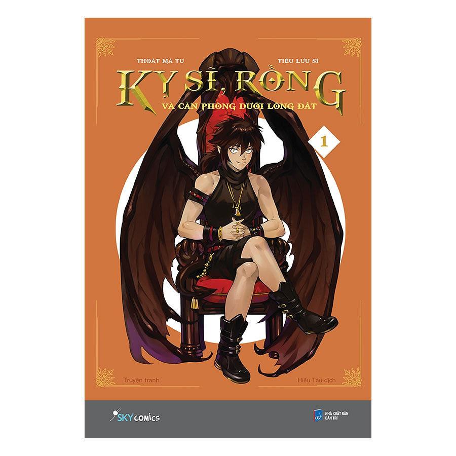 Sách - (Tặng Kèm 1 Poster + 1 Decal + 1 Hình Dựng + 1 Huy Hiệu) Kỵ Sĩ, Rồng Và Căn Phòng Dưới Lòng Đ