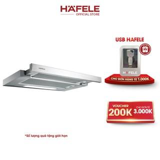 Máy Hút Mùi Âm Tủ HAFELE HH-TI60D HH-TI60D (60cm) - 539.81.083 Xuất Xứ Châu Âu Kèm Than Hoạt Tính