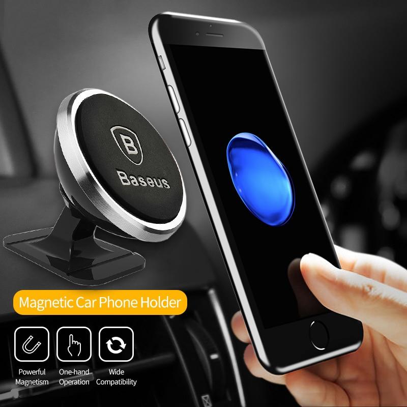 Baseus Giá Đỡ Điện Thoại Có Nam Châm Cho iPhone Xiaomi OPPO