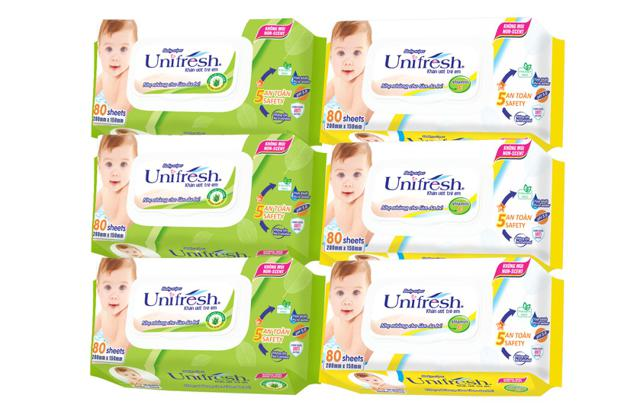combo 3 gói Khăn ướt UNIFRESH 80x24 Vitamin E + 3 gói UNIFRESH Aloe Vera 80x24 - 3405219 , 1067942245 , 322_1067942245 , 144000 , combo-3-goi-Khan-uot-UNIFRESH-80x24-Vitamin-E-3-goi-UNIFRESH-Aloe-Vera-80x24-322_1067942245 , shopee.vn , combo 3 gói Khăn ướt UNIFRESH 80x24 Vitamin E + 3 gói UNIFRESH Aloe Vera 80x24