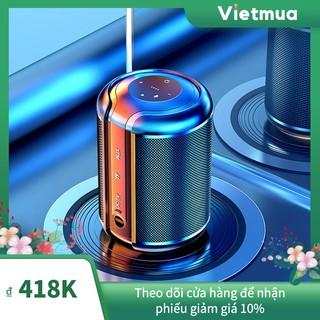 Loa Bluetooth Âm Thanh Siêu Trầm, Âm thanh nổi HiFi, Pin trâu 2200mAh, Hỗ trợ thẻ nhớ, USB