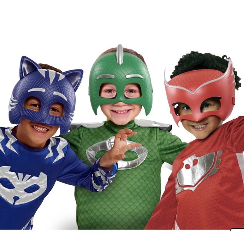Set mặt nạ vào áo Pj mask hàng Mỹ