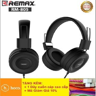Tai Nghe Headphone Remax RM-805NHẬN DIỆN GIỌNG NÓITai Nghe Chụp Tai Có Dây Dành Cho Game Thủ - BH Chính Hãng 12T