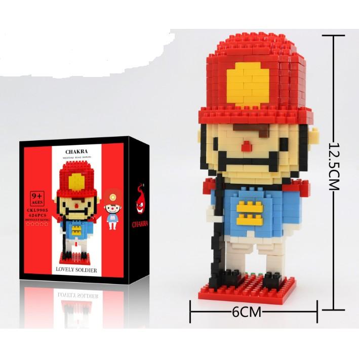 [FOLLOW SHOP 9K - 13H00 - 24H00, 8/4] Lắp ghép LEGO mẫu lính số 7