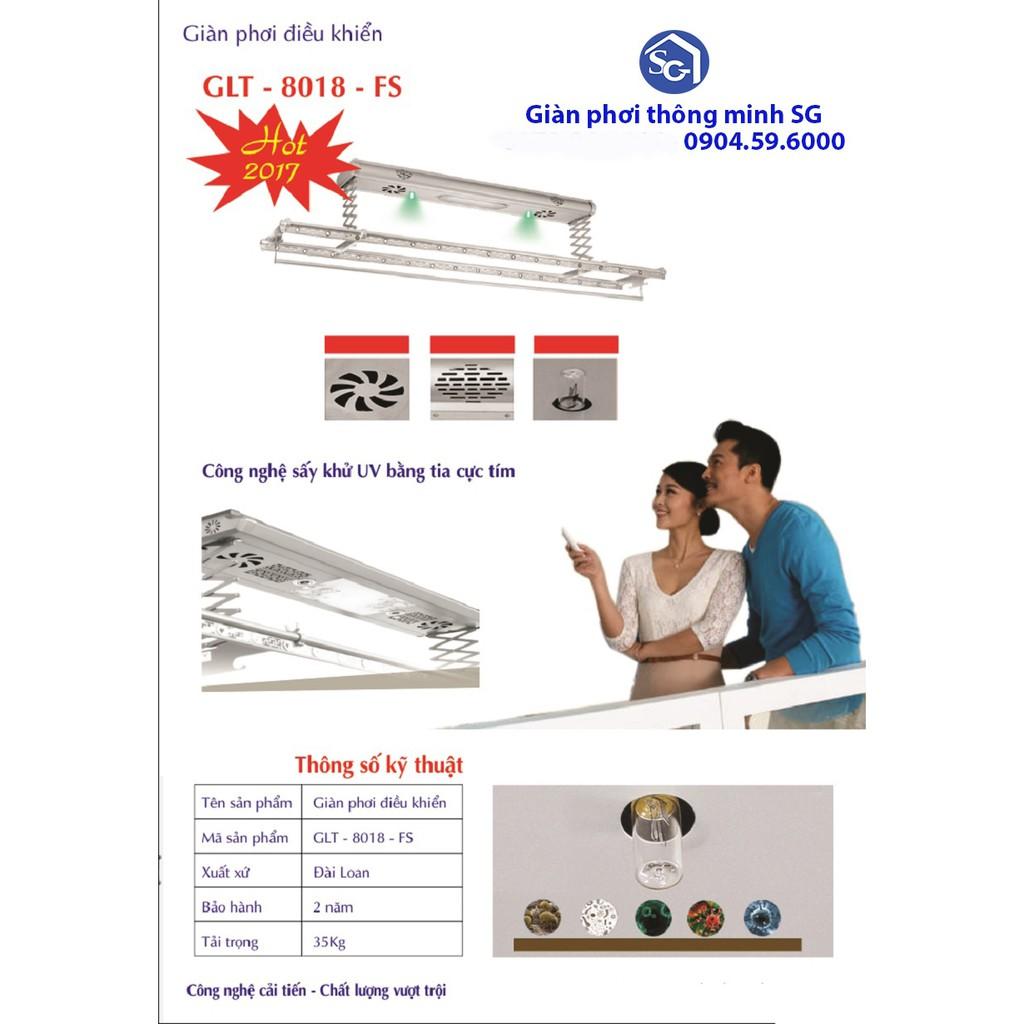 Giàn phơi điều khiển GLT - 8018