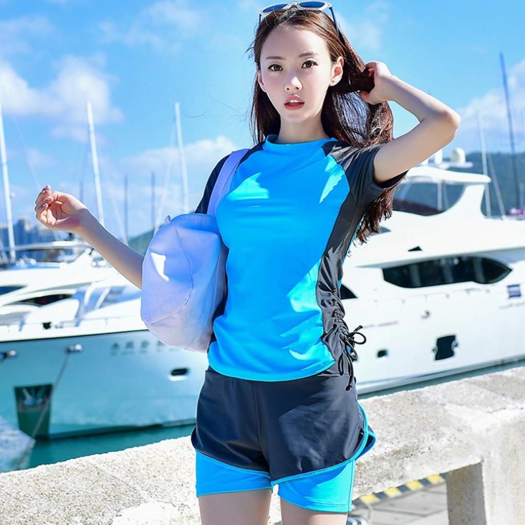 Đồ bơi nữ, đồ tắm biển dạng short năng động BK-209i