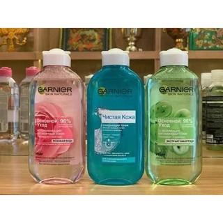 Nước hoa hồng GARNIER chiết xuất từ hạt nho dành cho da thường và da hỗn hợp 200 ml thumbnail