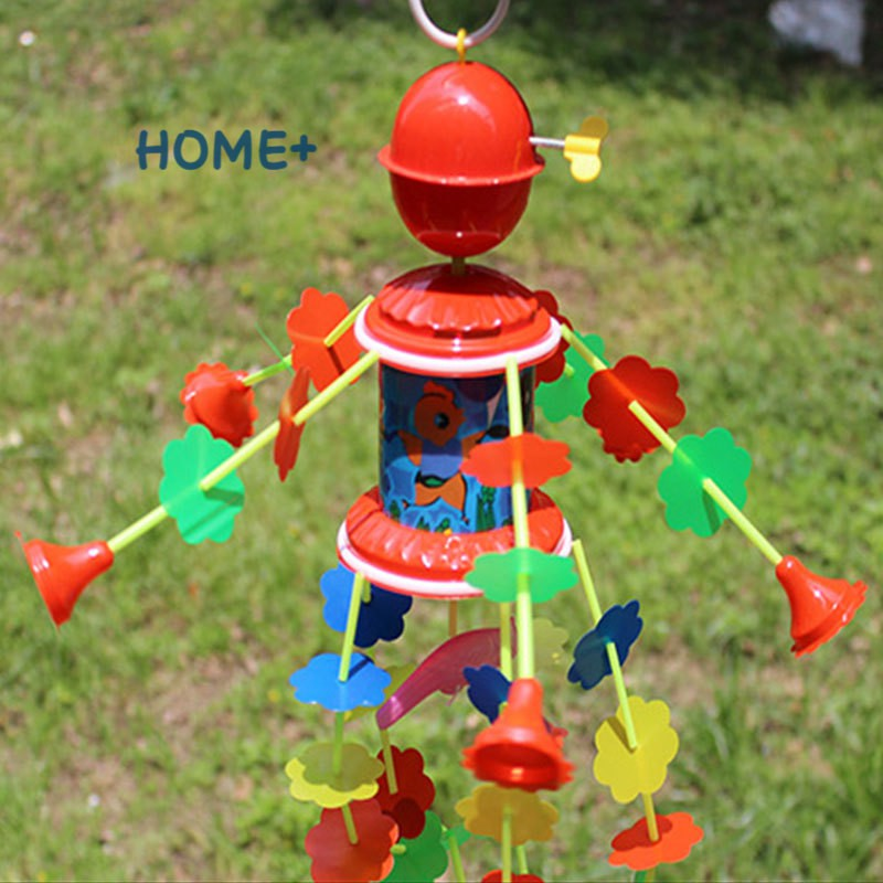 Tsuc Fashion Wind Chimes Rotating Music Kids Toys Plastic Children Crib Bell Bed Hang Decoration 3-6 Years Infant Baby Gift...