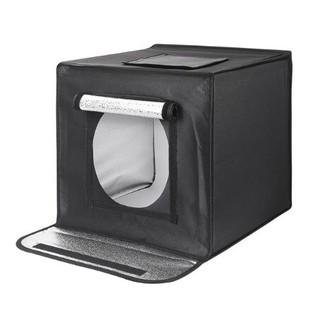Hộp Chụp Sản Phẩm Có Đèn LED 60x60cm Chuyên Chụp Sản Phẩm Nhỏ Như Điện Thoại Máy Tính Bảng Đồ Mô Hình Mỹ Phẩm