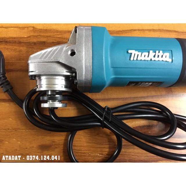 Máy mài, máy cắt cầm tay MAKITA 9556, Công suất 860W Lõi Đồng, Máy cắt sắt, tường, gỗ - May mai goc