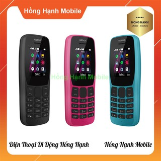 Hình ảnh Điện Thoại Nokia 110 2 Sim (2019) 4MB/4MB - Hàng Chính Hãng - Hồng Hạnh Mobile-3