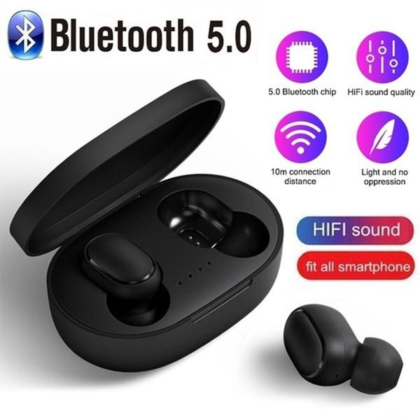 Tai nghe bluetooth không dây xiaomi redmi A6s chống ồn chống nước pin trâu  kết nối 5.0 bảo hành 12 tháng