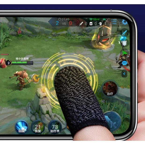 Bộ bao 2 ngón tay chuyên dụng chơi game mobile chống ra mồ hôi tay