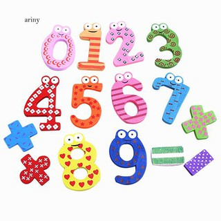 ♞Numeric Symbol Fridge Magnets Kid Educational Math Toy Refrigerator Magnet